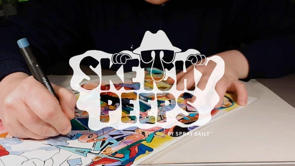 SKETCHY PEEPS 028 - DEPOT